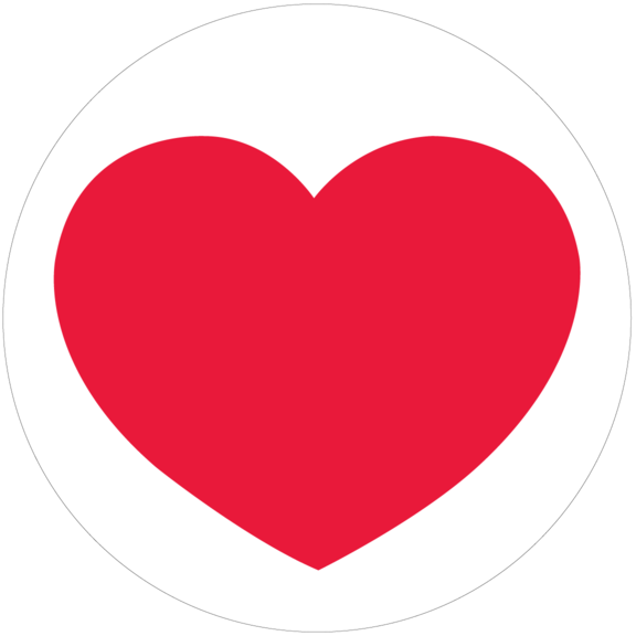 Heart Small Button
