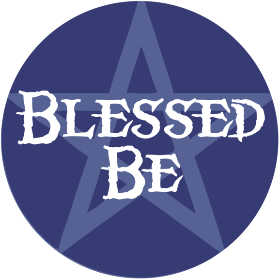 Blessed Be Button
