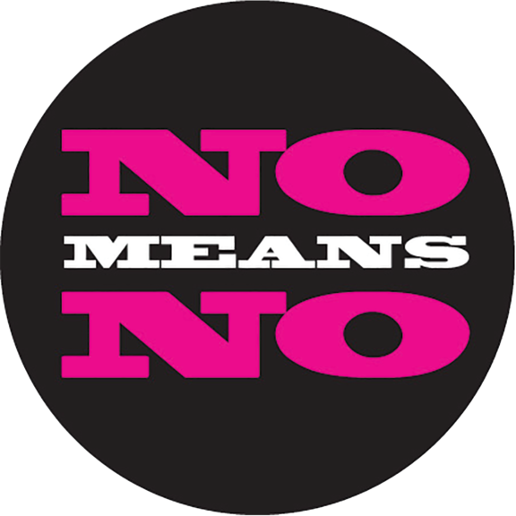 No Means No Button