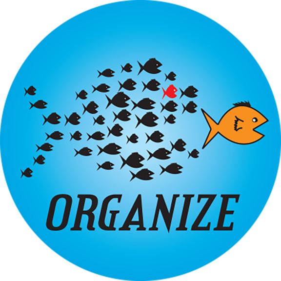 Organize Button
