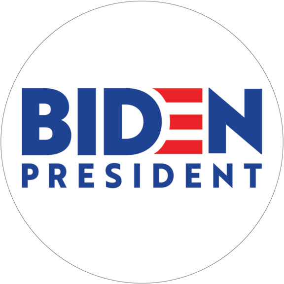 Joe Biden For President Button