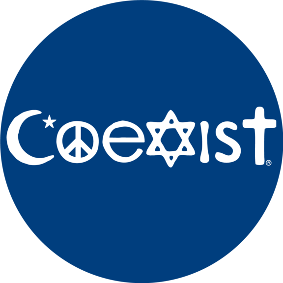 Religions Coexist Button