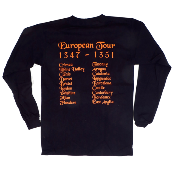 Black Death Tour Long Sleeve TShirt