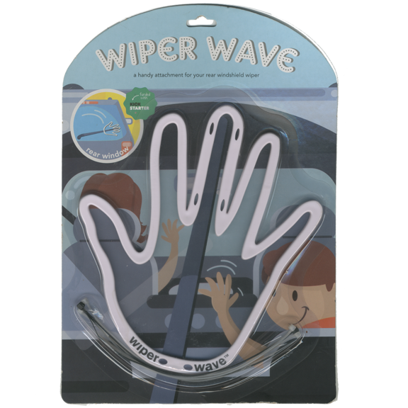 Wave Windshield Wiper Hand