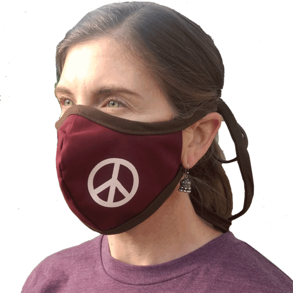Face Mask Peace Sign
