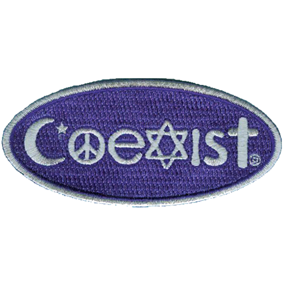Religions Coexist Patch