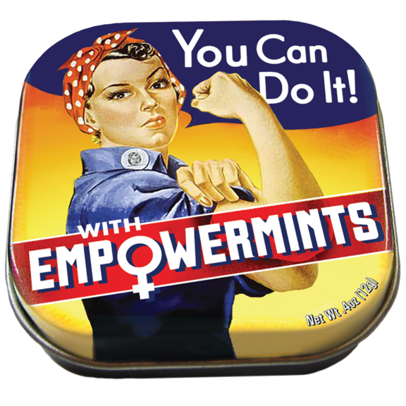 Rosie The Riveter Empower Mints