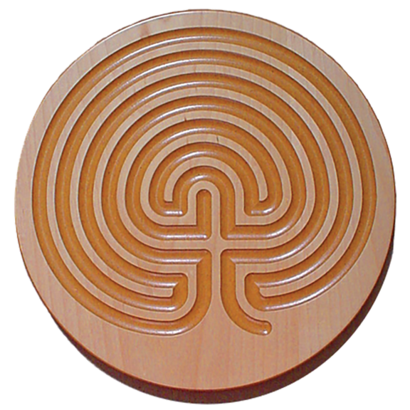 Finger Labyrinth Plaque