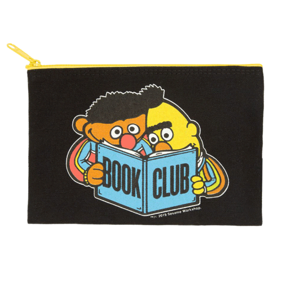 Sesame Street Book Club Zipper Pouch