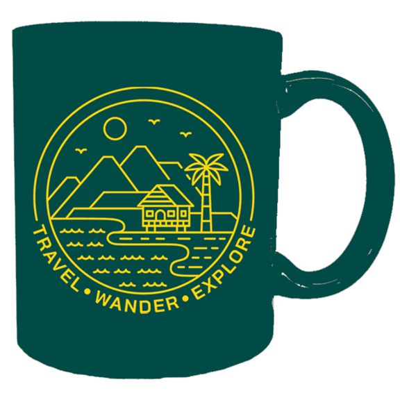 Wander Travel Explore Mug