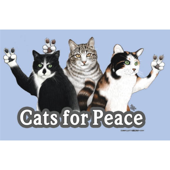 Cats For Peace Magnet