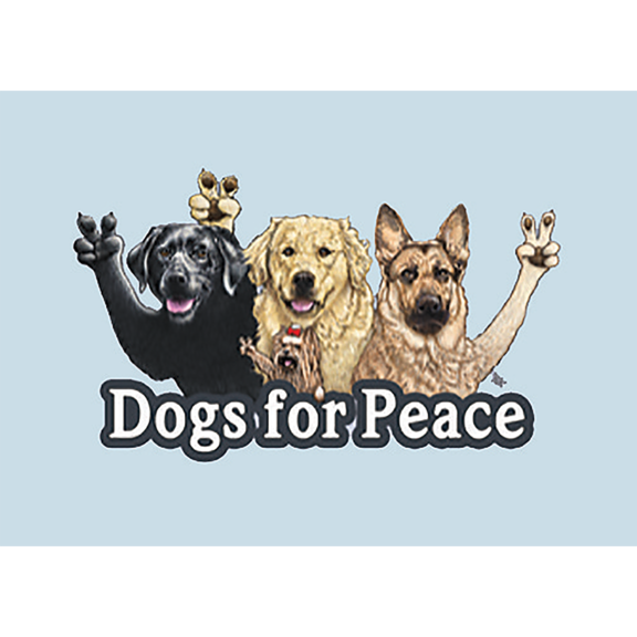 Dogs For Peace Magnet
