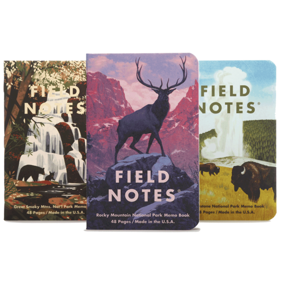 National Parks Journals - Yellowstone & More 3 Pack