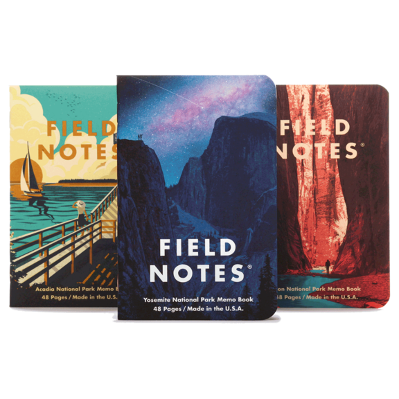 National Parks Journals - Yosemite & More 3 Pack