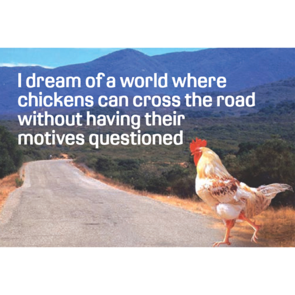 Chicken Motives Magnet