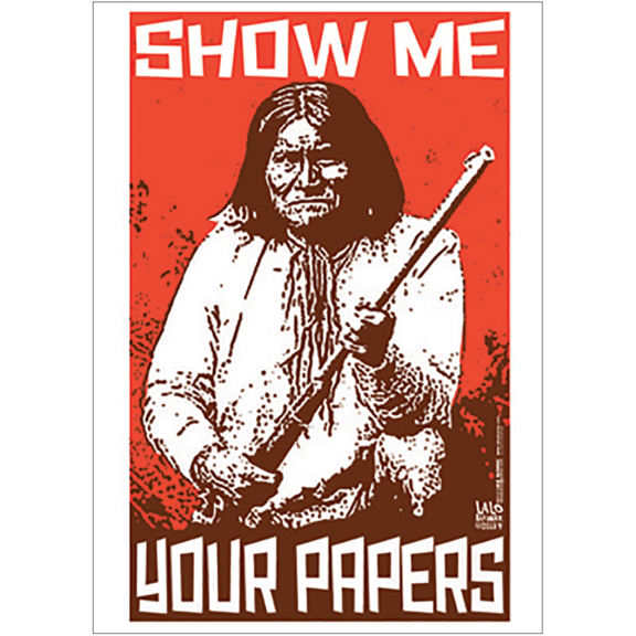 Show Me Papers Geronimo Magnet