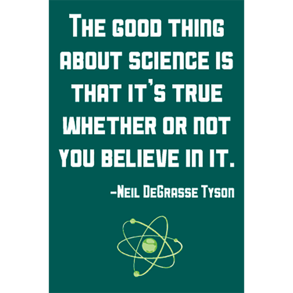 Good Thing Science Neil Tyson Magnet