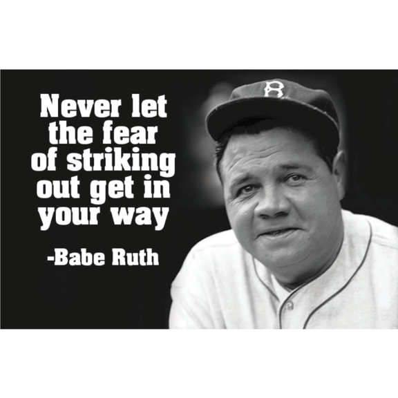 Babe Ruth Magnet