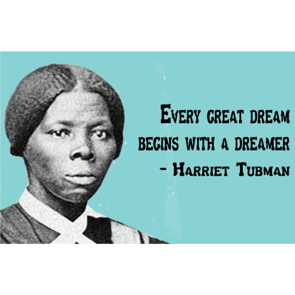 Harriet Tubman Magnet