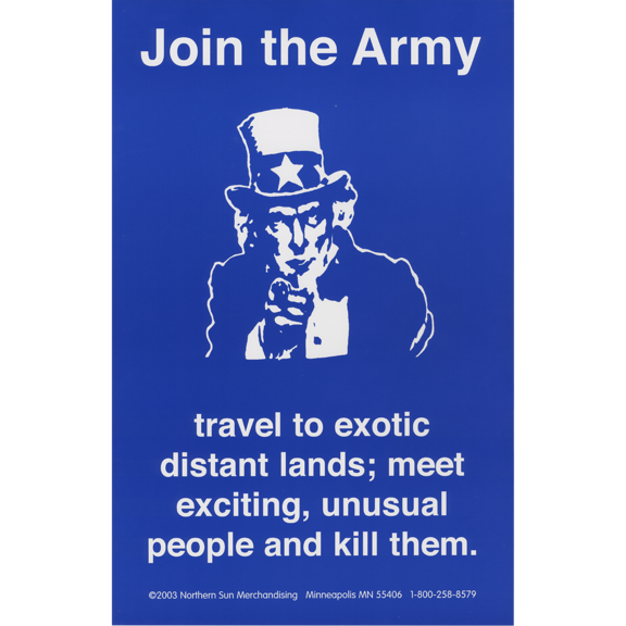 Join The Army Poster