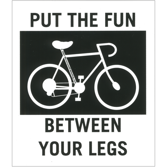Fun Between Legs Sticker