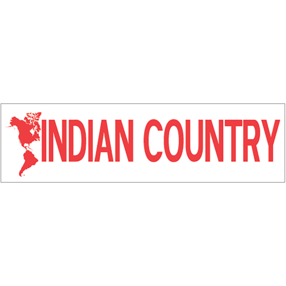 Indian Country Bumper Sticker