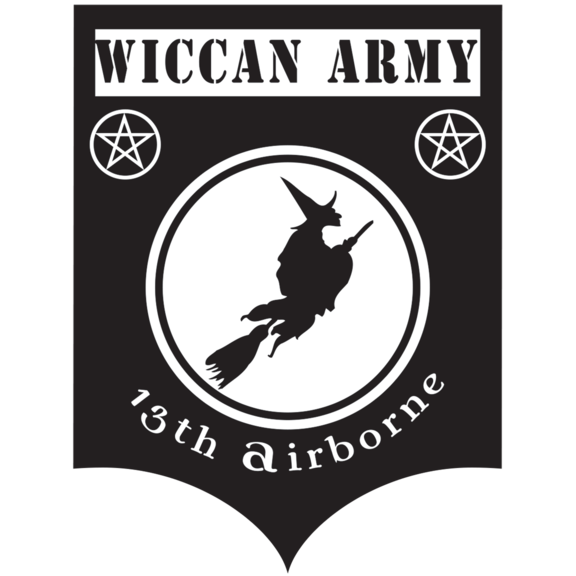 Wiccan Army Patch