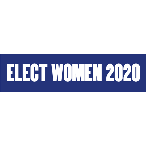 Elect Women 2020 Bumper Sticker