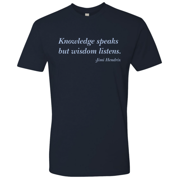 Knowledge Jimi Hendrix TShirt