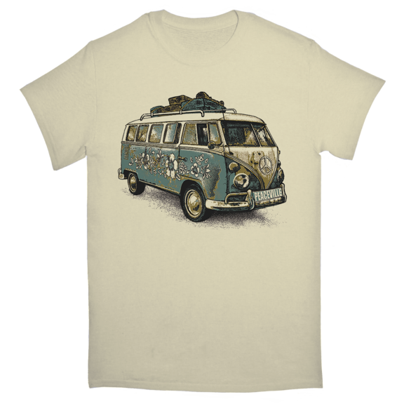 Peaceville VW Bus TShirt