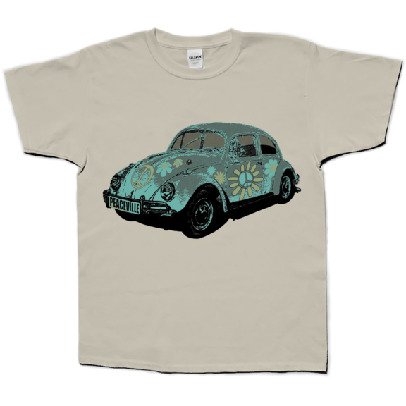 VW Bug Kids Organic TShirt