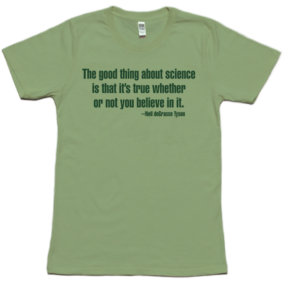 About Science Womens Organic TShirt