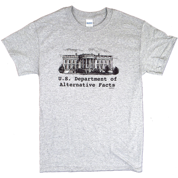 White House Alternative Facts TShirt
