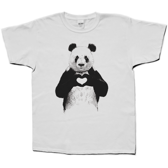 Love Panda Kids TShrt