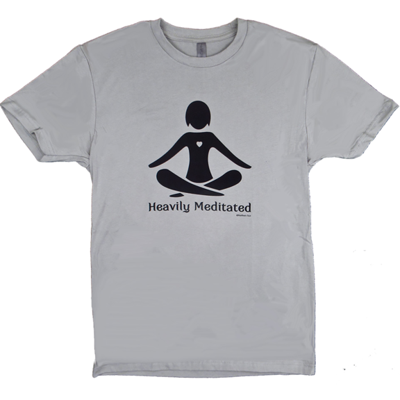 Heavily Meditated Yoga TShirt