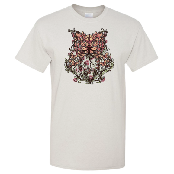 Owl Butterfly Illusion TShirt