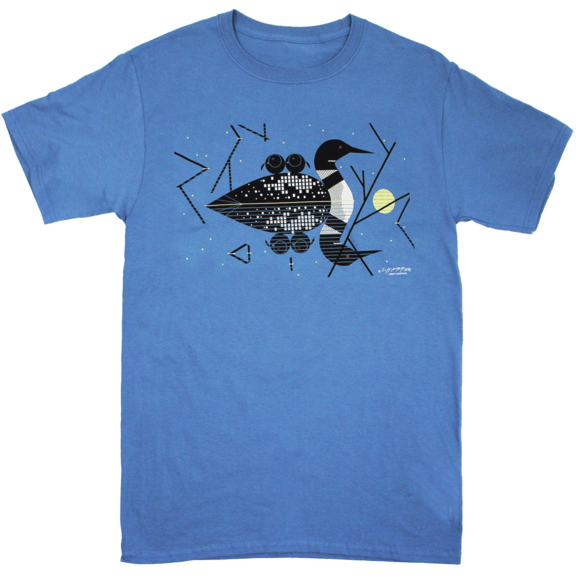 Loon Charley Harper T-Shirt