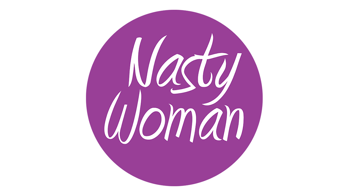 NASTY WOMAN 1 inch Button