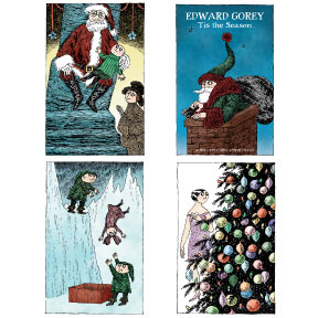 Edward Gorey 20 Box Note Card Set