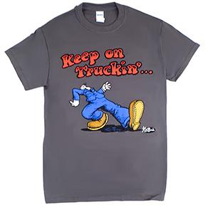 Keep On Truckin Tshirt