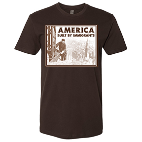 America Built By Immigrants T-Shirt