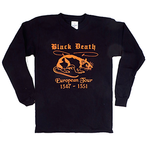 Black Death Tour Long Sleeve T-Shirt