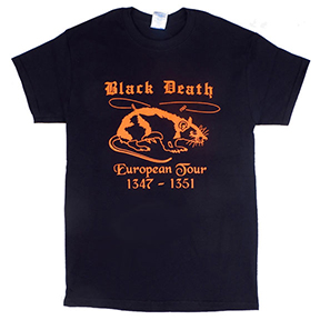 Black Death Tour TShirt