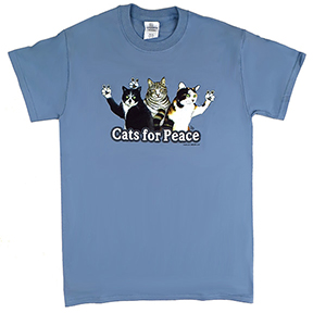 Cats For Peace T-Shirt