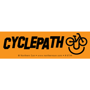 Cyclepath Sticker