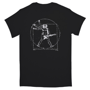 Da Vinci Guitar Man T-Shirt
