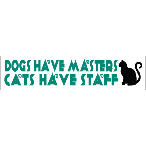 Dogs Cats Bumper Sticker