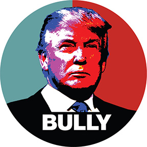Donald Trump Bully Button