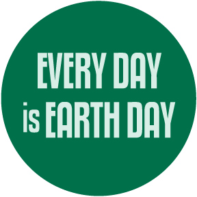 Every Day Is Earth Day Button