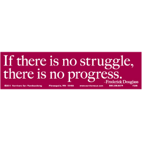 Frederick Douglass Bumper Sticker